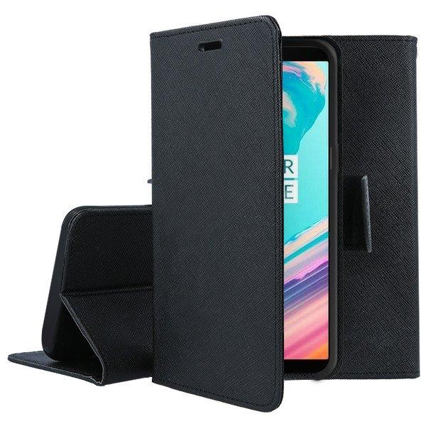 quality design d2285 e2146 2in1 WALLET FLIP CASE MAGNET pocketbook ONEPLUS 5T BLACK 85530 | VegaCom