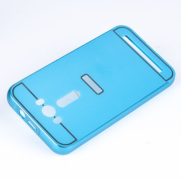 ALU FRAME PROTECTION BUMPER CASE COVER ASUS ZENFONE 2 LASER 5.0 BLUE