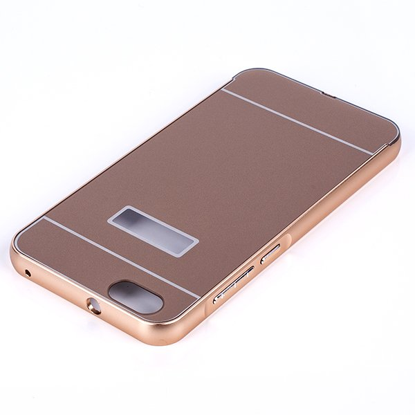 ALUMINIUM FRAME BUMPER CASE COVER for HUAWEI HONOR 4X GOLD + Glass