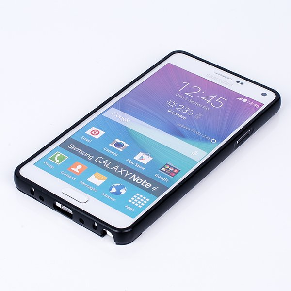ALUMINIUM FRAME BUMPER CASE COVER for SAMSUNG GALAXY NOTE 4 N910 BLACK