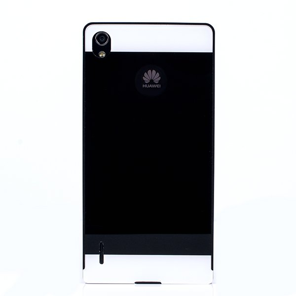 ALUMINIUM FRAME PROTECTION BUMPER CASE COVER HUAWEI ASCEND P7 BLACK