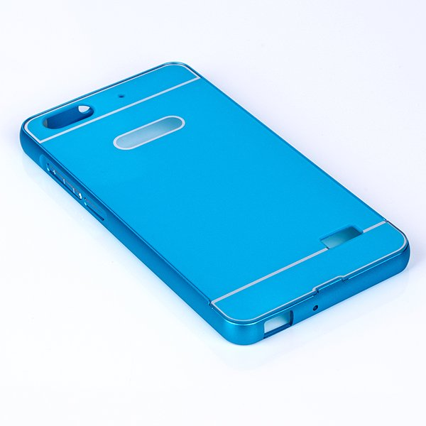 ALUMINIUM FRAME PROTECTION BUMPER CASE COVER HUAWEI HONOR 4C BLUE