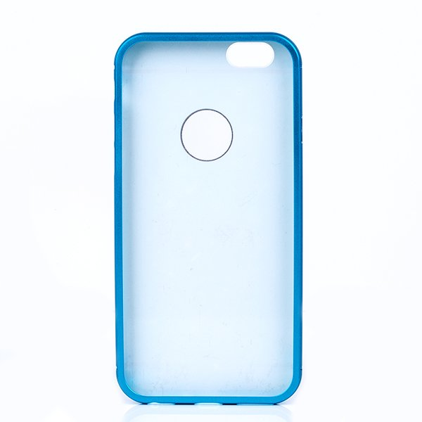 ALUMINIUM FRAME PROTECTION BUMPER CASE COVER IPHONE 6 6S 4.7 BLUE