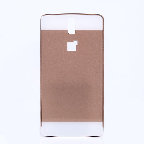 ALUMINIUM FRAME PROTECTION BUMPER CASE COVER ONEPLUS ONE GOLD