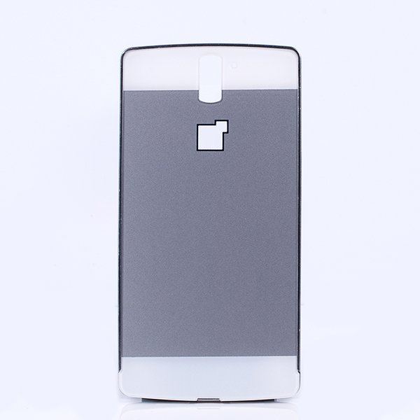best loved c4f4f 16859 ALUMINIUM FRAME PROTECTION BUMPER CASE COVER ONEPLUS ONE SILVER