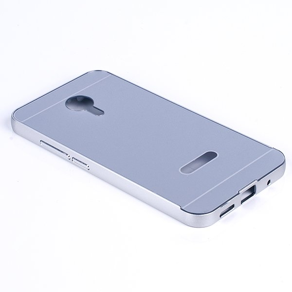ALUMINIUM FRAME PROTECTION CASE COVER for MEIZU MX5 SILVER