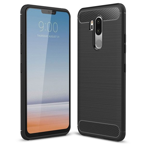 info for 65c0f 3ab93 AMAZING RUGGED BACK CASE COVER KARBON LG G7 FIT BLACK