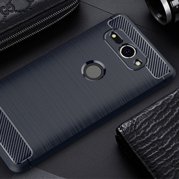 AMAZING RUGGED BACK CASE COVER KARBON SONY XPERIA XZ2