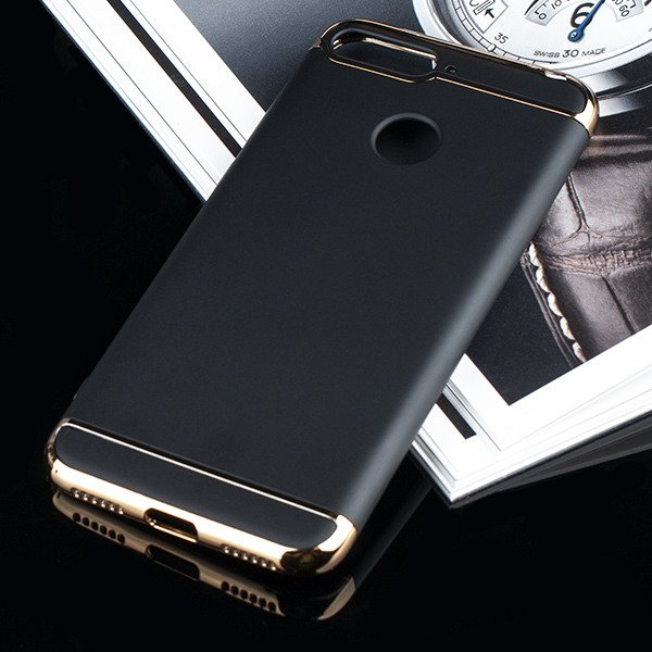 promo code 274d5 6f149 BACK CASE COVER AMARE HARD HUAWEI HONOR 7A BLACK