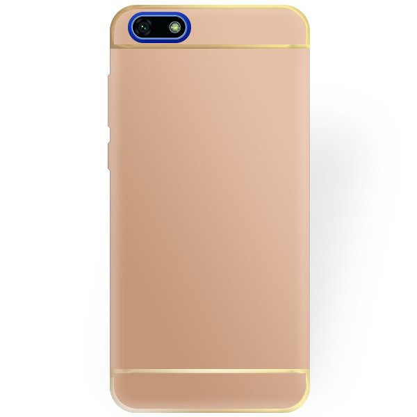 9f6c6c76b BACK CASE COVER AMARE HARD HUAWEI Y5 2018 GOLD 93906