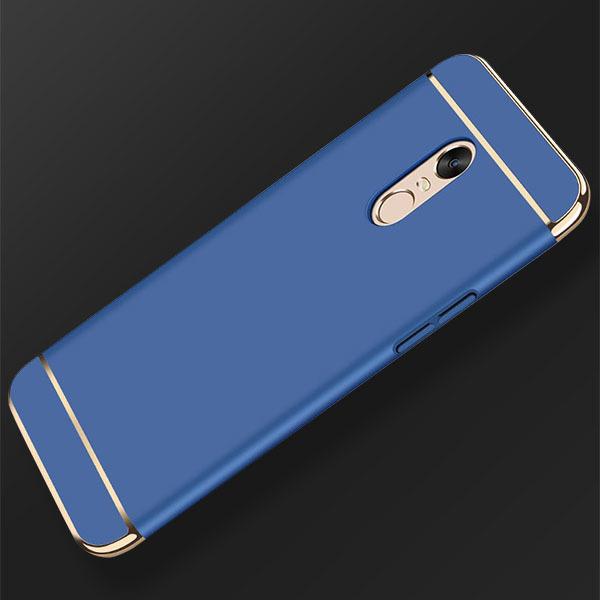 size 40 3764b a7c37 BACK CASE COVER AMARE HARD XIAOMI REDMI 5 PLUS BLUE