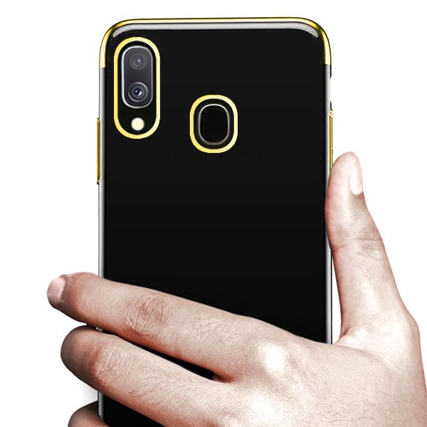 6483079cdc0 BACK CASE COVER GEL BUMPER TPU SAMSUNG GALAXY A40 SM-A405 GOLD ...