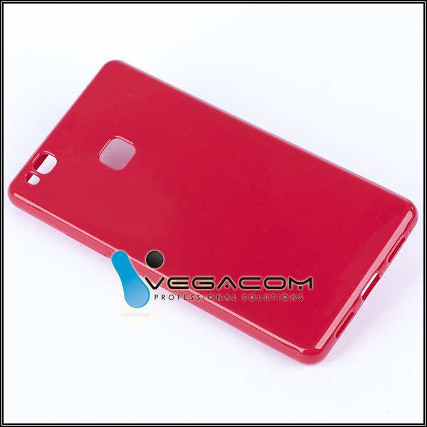 buy online ed9b2 d1c46 BACK CASE COVER GEL RUBBER JELLY HUAWEI HONOR 8 SMART RED