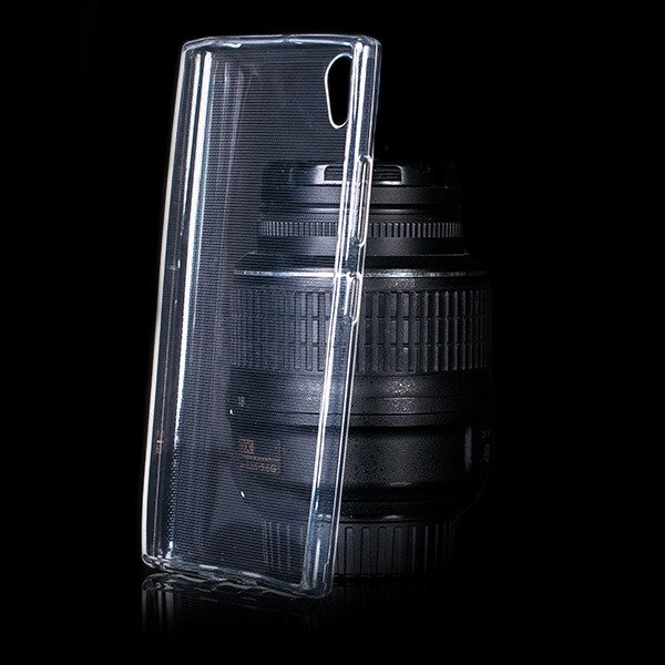 sale retailer 21c0f 0116b BACK CASE COVER GEL RUBBER JELLY LENOVO P70 TRANSPARENT