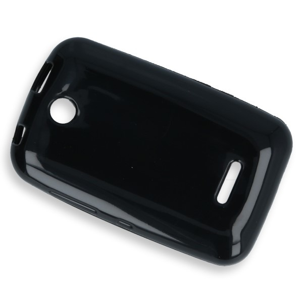 info for bb8ec ccd72 BACK CASE COVER GEL RUBBER JELLY NOKIA ASHA 230 BLACK