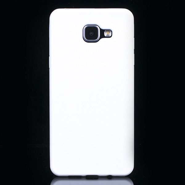 new product 9530f 5148a BACK CASE COVER GEL RUBBER JELLY SAMSUNG GALAXY A5 2016 SM-A510 WHITE