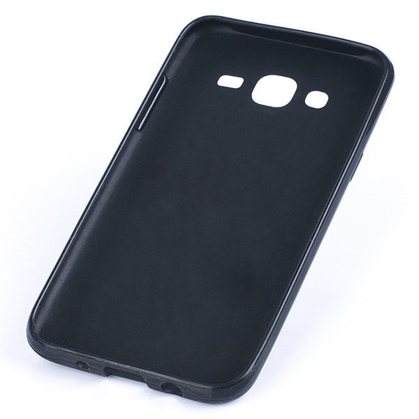 premium selection 270e9 7d2fc BACK CASE COVER GEL RUBBER JELLY SAMSUNG GALAXY J5 SM-J500 BLACK