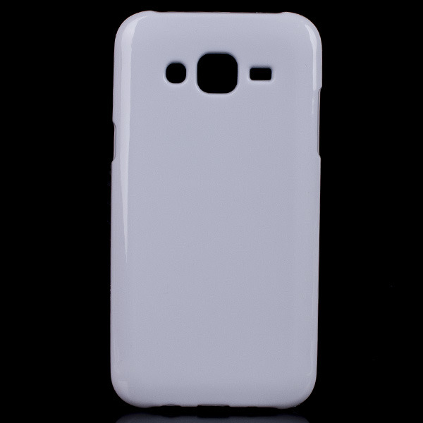 reputable site c2648 51a16 BACK CASE COVER GEL RUBBER JELLY SAMSUNG GALAXY J5 SM-J500 WHITE