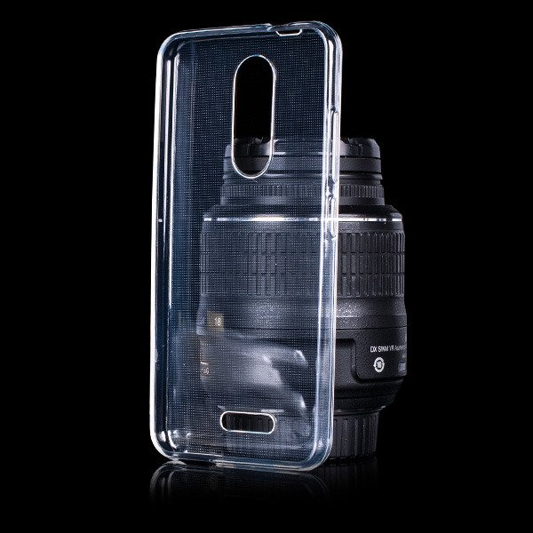 BACK CASE COVER GEL RUBBER JELLY WIKO UPULSE LITE CLEAR