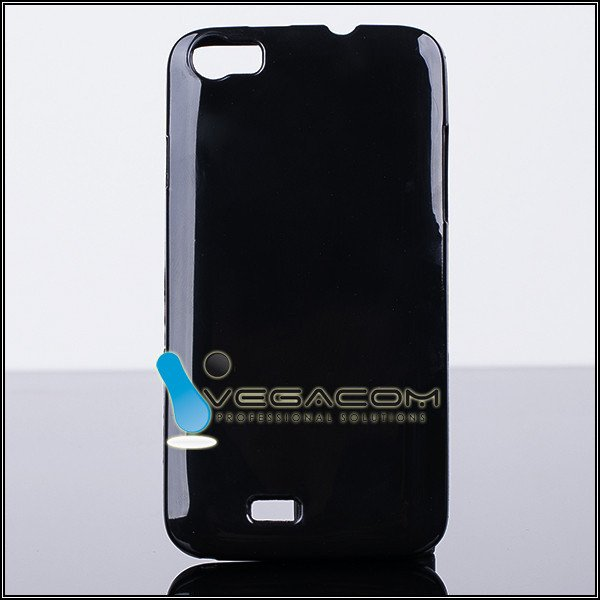 BACK CASE COVER GEL TPU JELLY WIKO LENNY BLACK