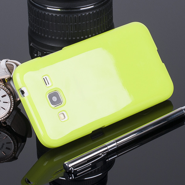 BACK CASE COVER GEL TPU for SAMSUNG GALAXY CORE PRIME SM-G360 GREEN