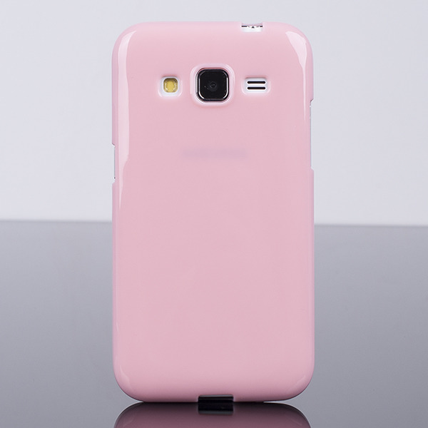 BACK CASE COVER GEL TPU for SAMSUNG GALAXY CORE PRIME SM-G360 PINK
