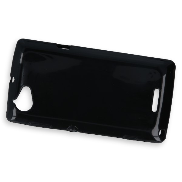premium selection 0a5fb 56ca1 BACK CASE COVER GEL TPU for SONY XPERIA L C2104 C2105 BLACK