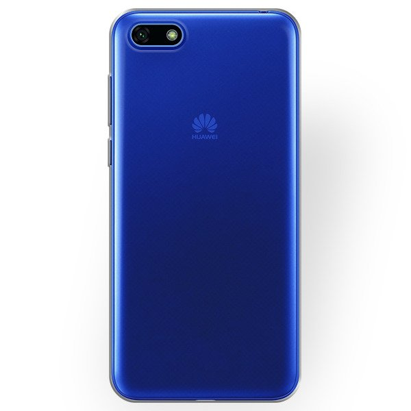 the latest 1dac1 6f2ea BACK CASE COVER HUAWEI Y5 2018 Ultra slim 0.3mm TRANSPARENT