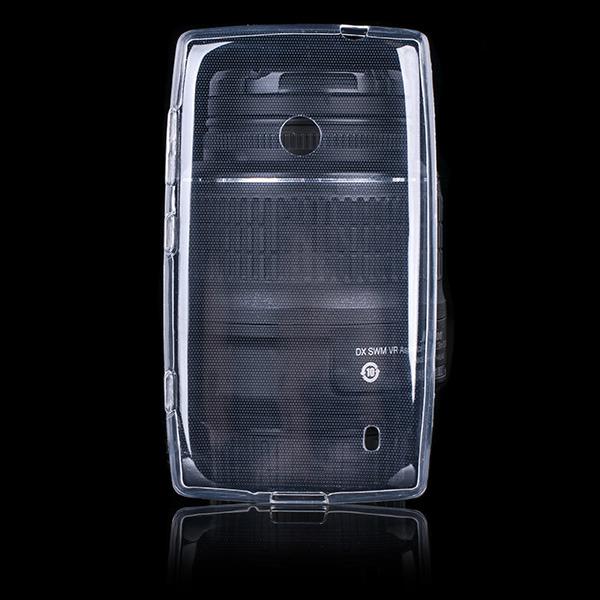 official photos 0d0b6 05a6f BACK CASE COVER NOKIA LUMIA 520 Ultra slim 0.3mm TRANSPARENT