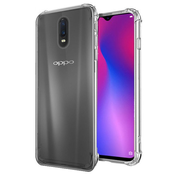 huge selection of a88e7 306a7 BACK CASE COVER OPPO RX17 PRO AIR SHOCK TRANSPARENT + GLASS