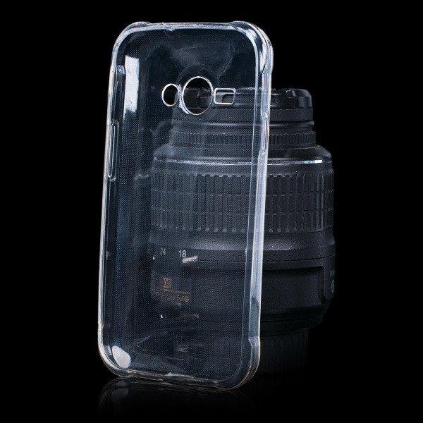outlet store 7cc9c dc303 BACK CASE COVER SAMSUNG GALAXY J1 ACE SM-J111 slim 0.3mm TRANSPARENT