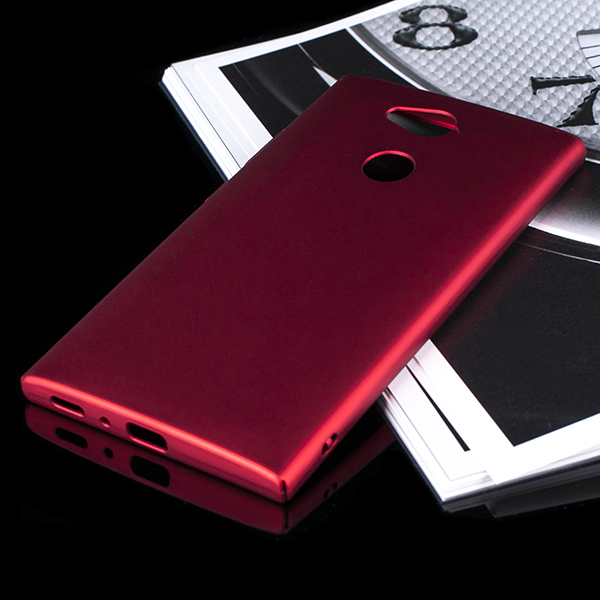 best website 7806d 9f1d0 BACK CASE COVER SLIM ARMOR HARD SONY XPERIA L2 RED