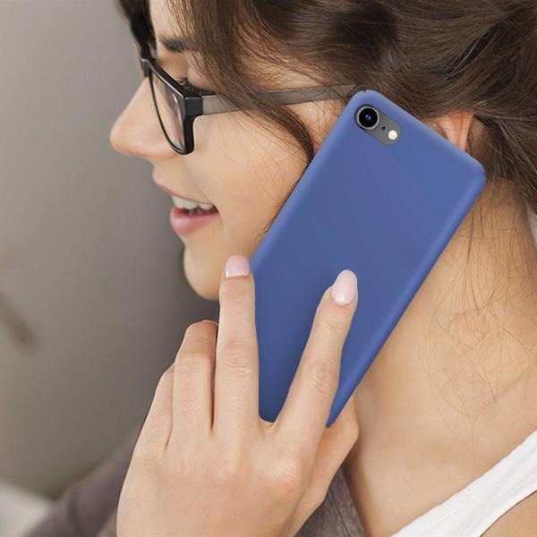 Back Case Cover Slim Armor Hard Xiaomi Redmi Note 6 Pro Blue Glass