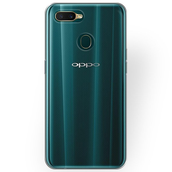 super popular 0c931 e456f BACK CASE COVER OPPO A7 Ultra slim 0.3mm TRANSPARENT
