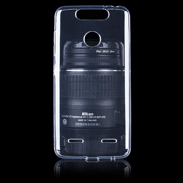 timeless design 57798 15fec BACK CASE COVER ZTE BLADE V8 MINI Ultra slim 0.3mm TRANSPARENT