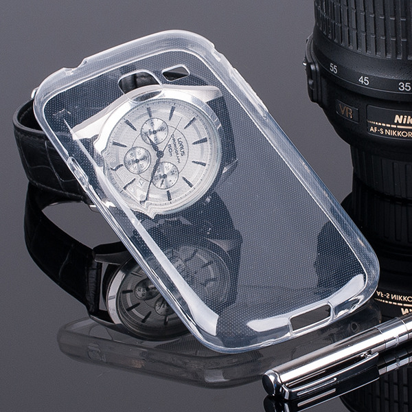 back case cover for galaxy trend lite gt s7390 slim transparent 33110 vegacom. Black Bedroom Furniture Sets. Home Design Ideas