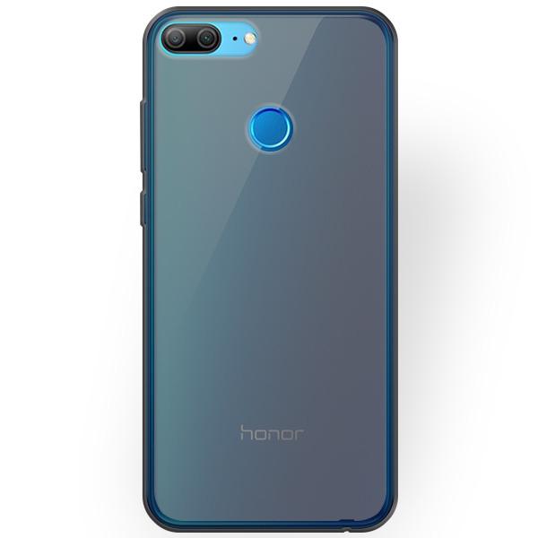 hot sale online 9d5fc 9ff9b BACK CASE MATT COVER GEL RUBBER JELLY HUAWEI HONOR 9 LITE BLACK