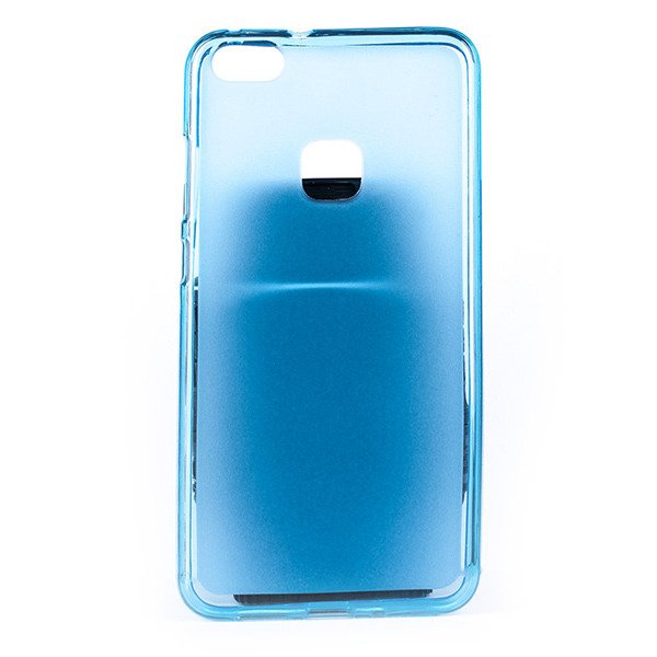 promo code 3ab8b 24f3f BACK CASE MATT COVER GEL RUBBER JELLY HUAWEI P10 LITE BLUE