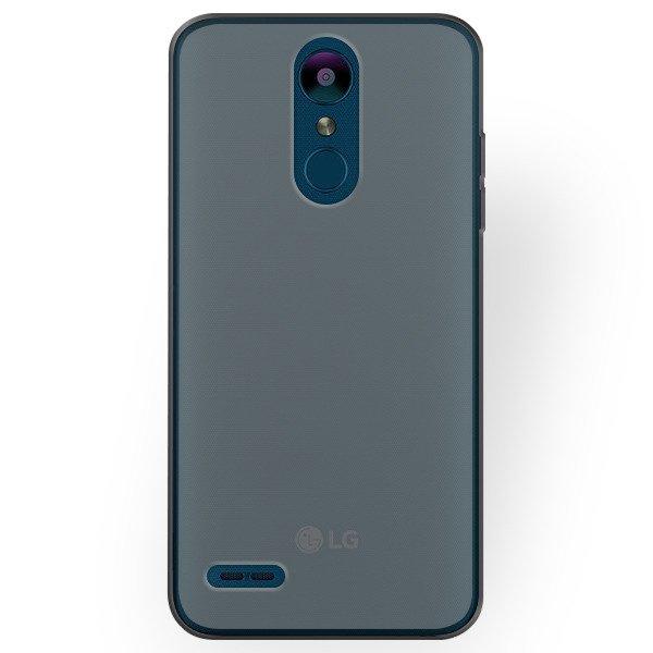 low priced 1fad5 9148b BACK CASE MATT COVER GEL RUBBER JELLY LG K9 BLACK