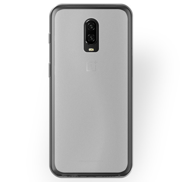 31070639b5 BACK CASE MATT COVER GEL RUBBER JELLY ONEPLUS 6T TRANSPARENT Click to zoom  ...