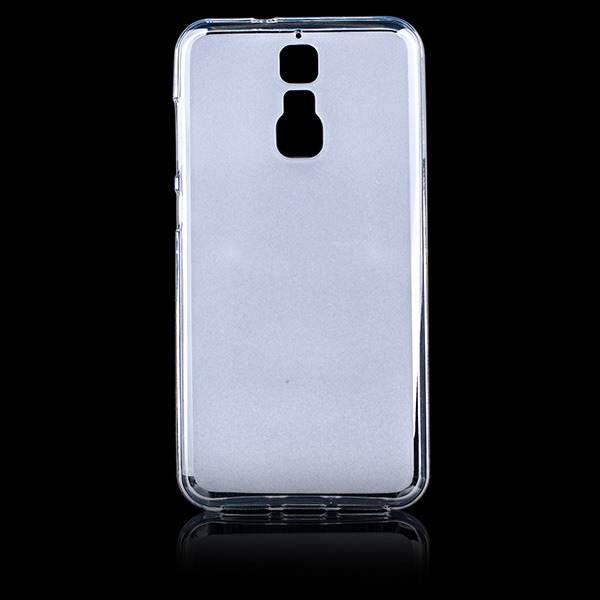 best sneakers 993aa 6afed BACK CASE MATT COVER GEL RUBBER JELLY ZTE BLADE A610 PLUS TRANSPARENT