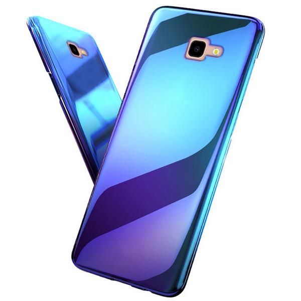 quality design f9d27 df0b1 BACK CASE BLUERAY BLUE-RAY HARD SAMSUNG GALAXY J4+ PLUS J415 +GLASS 9H