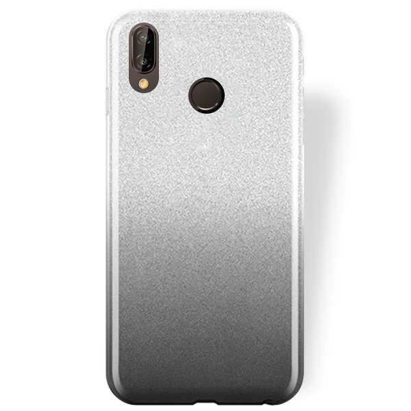 Leafs Étui En Silicone Design Noir Pour Lite Huawei P20 0XYKFq0xE
