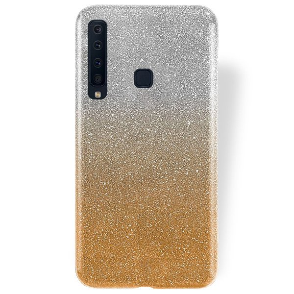 new styles 42a9a eb2a5 BLING CASE COVER GLITTER BROCADE SAMSUNG GALAXY A9 2018 SM-A920 GOLD