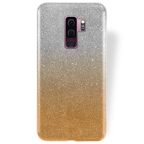 sports shoes d2ce5 a1d29 BLING CASE COVER GLITTER BROCADE SAMSUNG GALAXY S9 PLUS SM-G965 GOLD