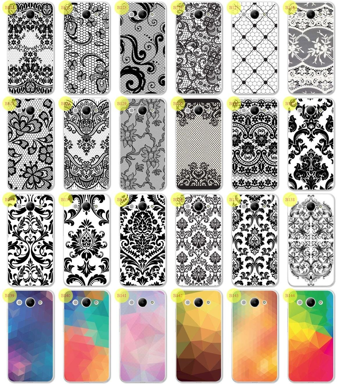 Back Case 0.3mm Kreatui PRINT COVER ArtCase HUAWEI Y3 2017 + GLASS 9H