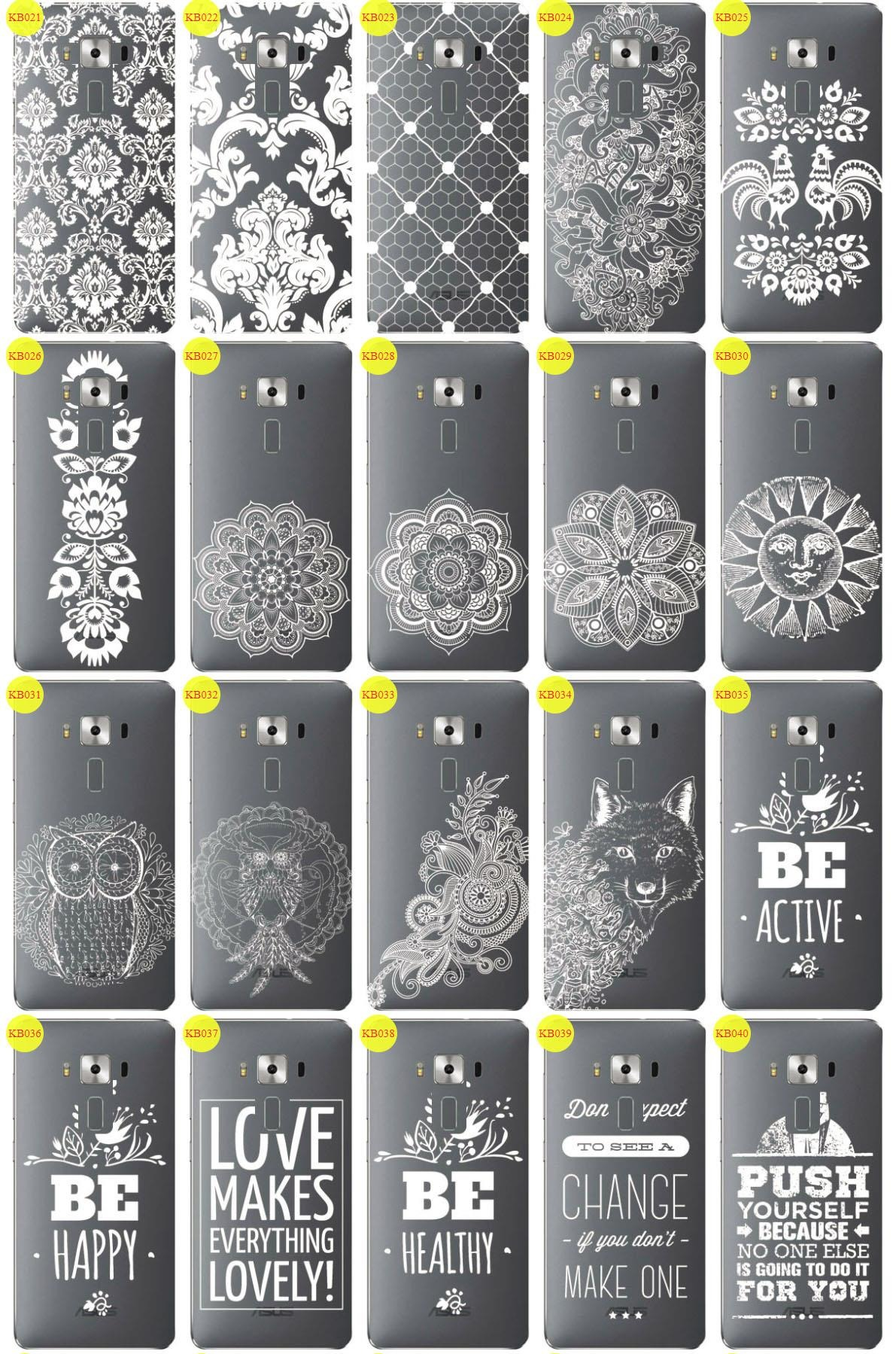 Back Case Cover Kreatui LaceCase ASUS ZENFONE 3 DELUXE + GLASS 9H
