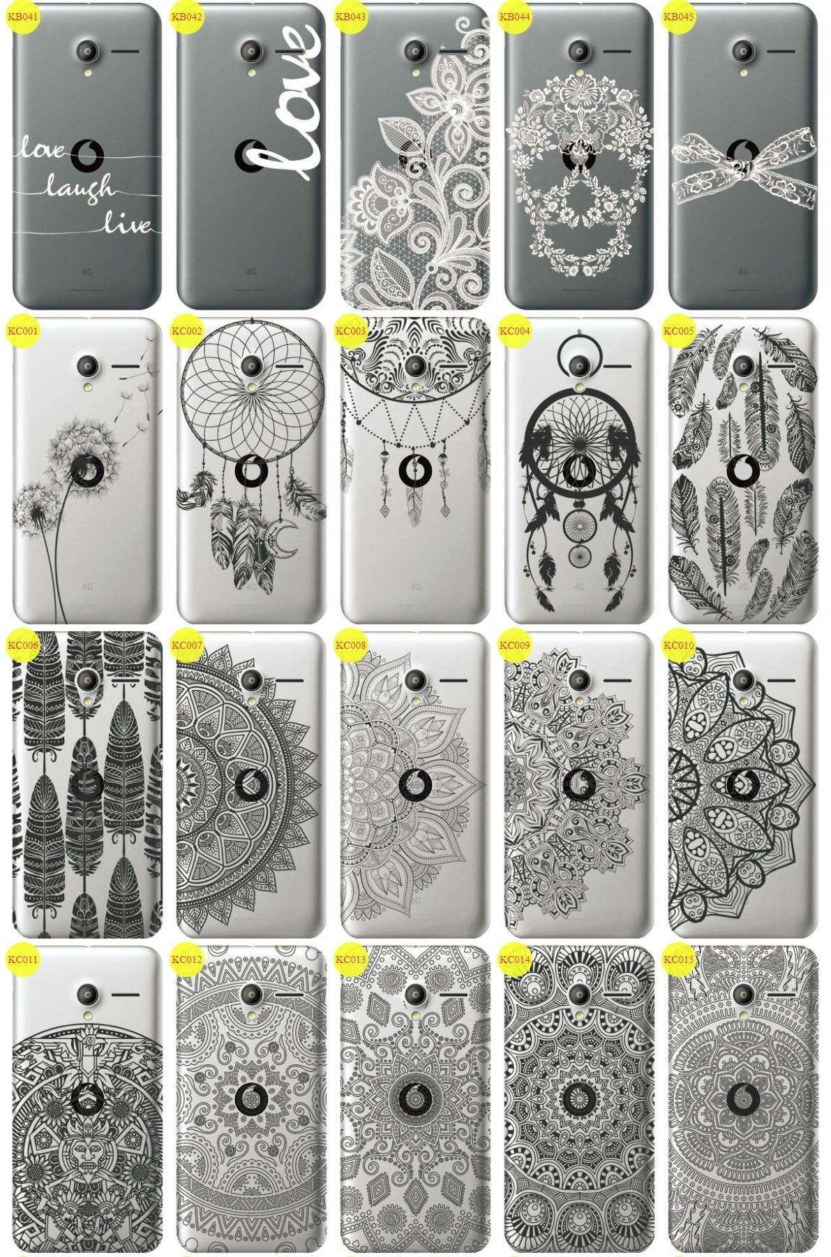Back Case Cover Kreatui LaceCase VODAFONE SMART SPEED 6 + GLASS 9H