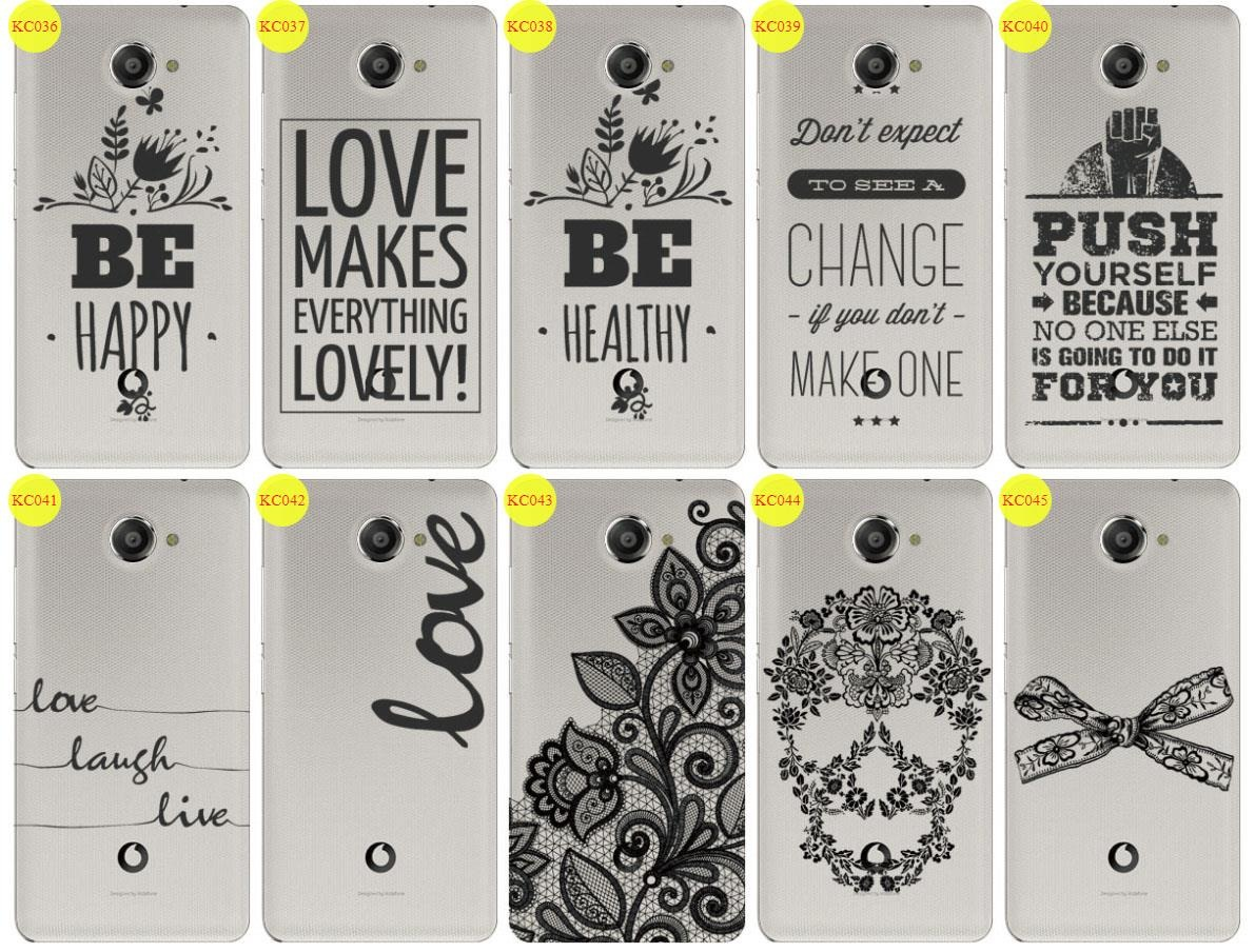 Back Case Cover Kreatui LaceCase VODAFONE SMART ULTRA 7 + GLASS 9H