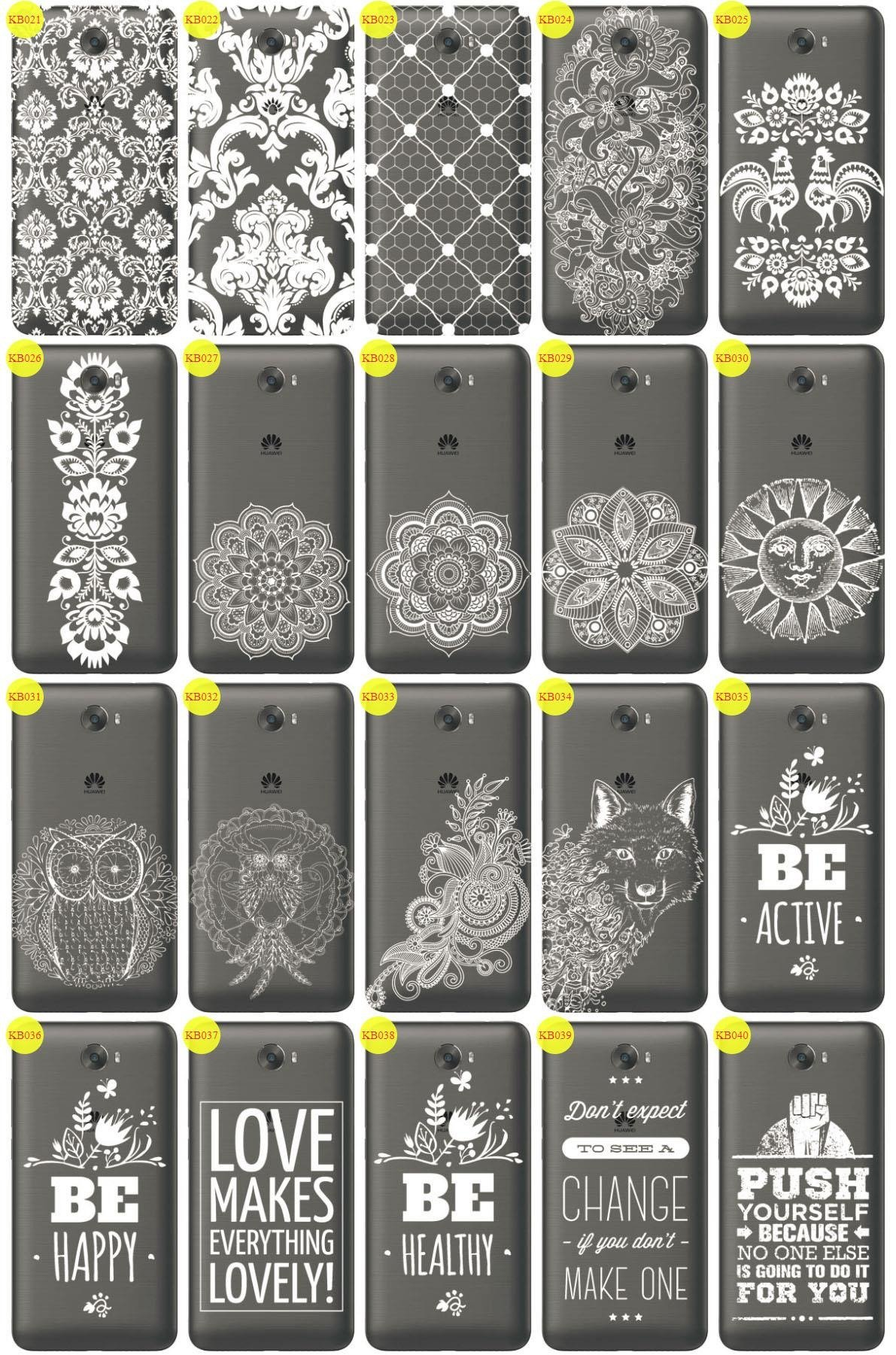 Back Case Cover Overprint Kreatui LaceCase HUAWEI Y5 II 2
